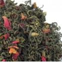 Thé en vrac Pamplemousse, Pomelos, Rose-Thé vert LUTIN Compagnie Anglaise des Thés