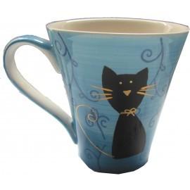 Taza Gato Negro