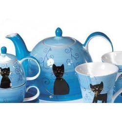 Tetera Azul Gato  1,7l