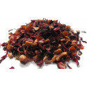 Infusion HIBISCUS, POMME, ROSE - Infusion ROMANE - Compagnie Anglaise des Thés