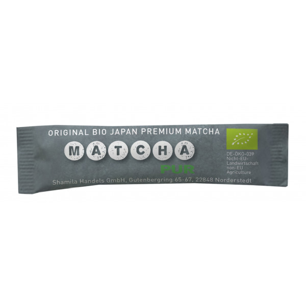 Matcha orgánico de Japón 1 g - Compañía Inglesa de Tés.