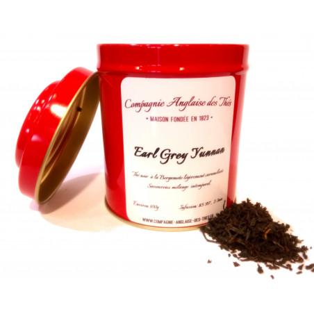 Boîte de Thé noir EARL GREY YUNNAN