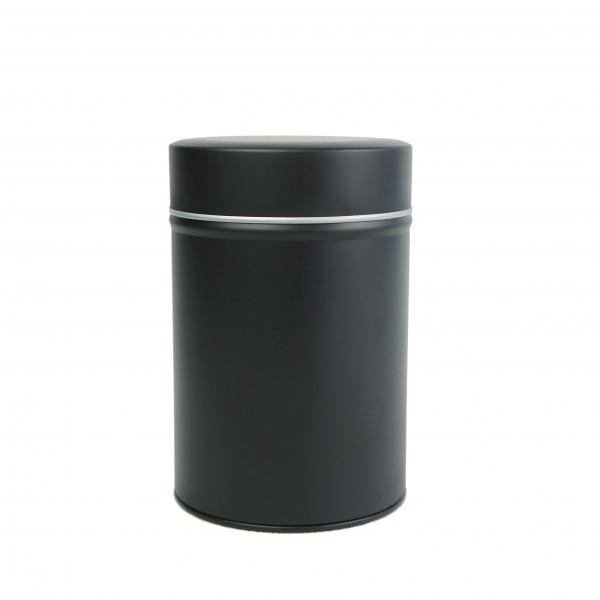 boite cylindrique noire