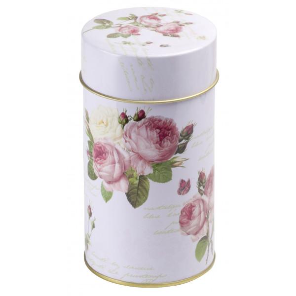 Caja Rondado Rosas
