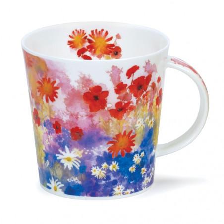 Mug Dunoon Fleurs rouges