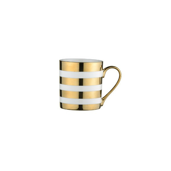 Mug Rayures Or - Compagnie Anglaise des Thes