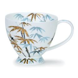 Mug Dunoon Bleu et or