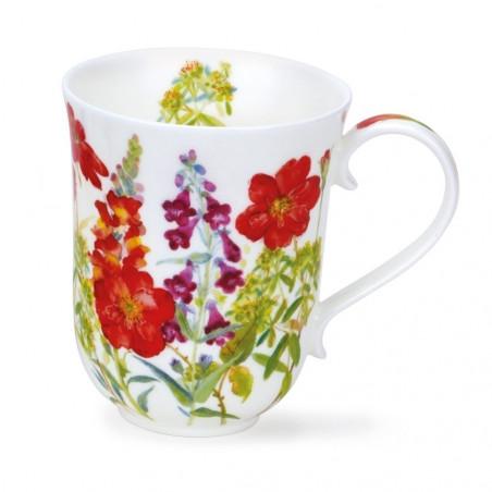Mug Dunoon Red Flowers