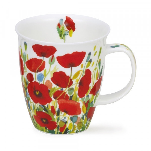 Mug Dunoon champ coquelicot - Compagnie Anglaise des Thés