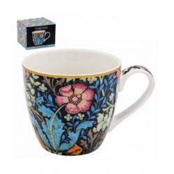 Mug Fleurs bleues et roses - Compagnie Anglaise des Thés