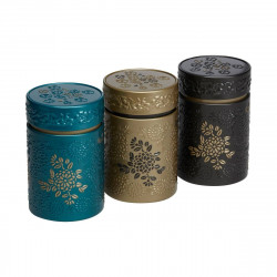 Boîte cylindrique Marron clair avec relief