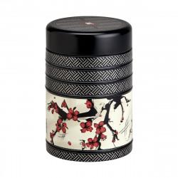 Boîte Cerisier Japonais cylindrique