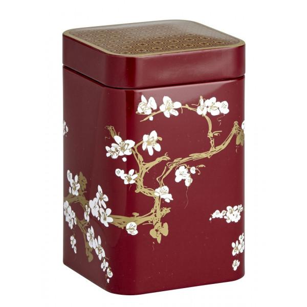 Boîte Cerisier Japonais Rouge - Compagnie Anglaise des Thés