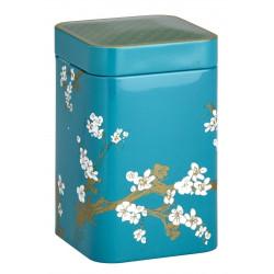 Boîte Cerisier Japonais Turquoise - Compagnie Anglaise des Thés