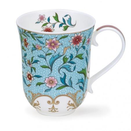 Mug Dunoon Fleurs bleues slaves