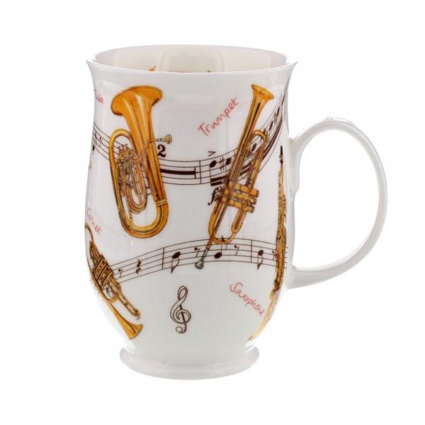 Mug Dunoon Trompette - Compagnie Anglaise des Thés