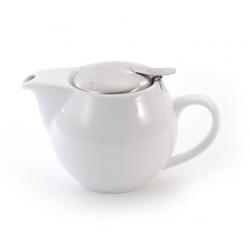 Théière Blanc Vif 0,5l - Compagnie Anglaise des Thés