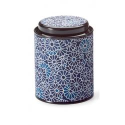 Boîte Japonaise fleurs bleues 100g - Compagnie Anglaise des Thés