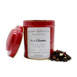 Thé ORANGE, CANNELLE - Boîte de thé noir CHRISTMAS - Compagnie Anglaise des Thés