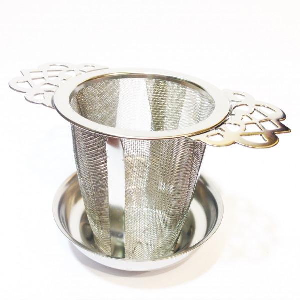 Filtre métal fleurs Ø 5,5cm - Compagnie Anglaise des Thés